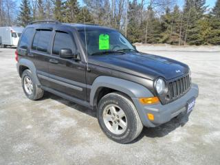 Used 2005 Jeep Liberty 4WD for sale in Beaverton, ON