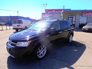 Used 2016 Dodge Journey R/T LTHR 7 PSSGR AWD for sale in Brampton, ON