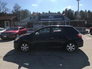 Used 2010 Toyota Matrix ONE OWNER for sale in Flesherton, ON