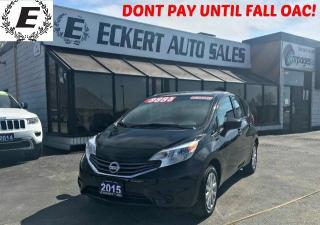 Used 2015 Nissan Versa Note SV HATCHBACK WITH REVERSE CAMERA /BLUETOOTH for sale in Barrie, ON