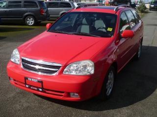 Used 2006 Chevrolet Optra LT for sale in Parksville, BC