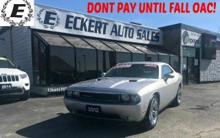 Used 2012 Dodge Challenger SXT WITH LEATHER / SUNROOF for sale in Barrie, ON