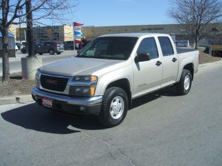Used 2004 GMC Canyon CREW CAB  4X4 for sale in York, ON