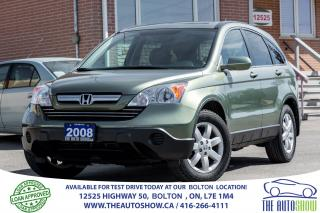 Used 2008 Honda CR-V EX-L LEATHER SUNROOF for sale in Caledon, ON