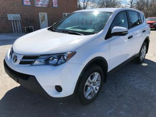 Used 2013 Toyota RAV4 4WD/NO ACCIDENT/CERTIFIED/WARRANTY INCLUDED for sale in Cambridge, ON