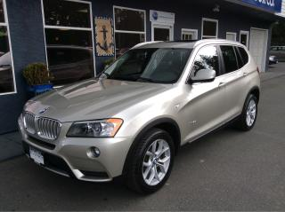 Used 2014 BMW X3 xDrive28i for sale in Parksville, BC