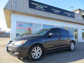 Used 2007 Mazda MAZDA3 GT LOW KM, ALLOYS, FOG LIGHTS, ALL POWERED for sale in Mississauga, ON