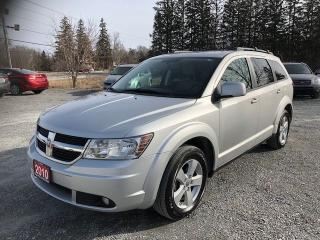 Used 2010 Dodge Journey SXT DVD / BACK UP CAMERA / 7 PASS for sale in Gormley, ON