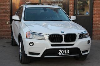 Used 2013 BMW X3 xDrive28i AWD *ONE OWNER, NO ACCIDENTS, CERTIFIED* for sale in Scarborough, ON