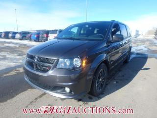 Used 2017 Dodge GRAND CARAVAN GT WAGON 7PASS 3.6L for sale in Calgary, AB