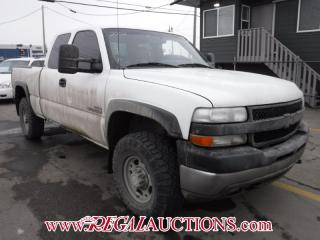 Used 2002 Chevrolet SILVERADO 2500 LT 4D EXT CAB 4WD for sale in Calgary, AB