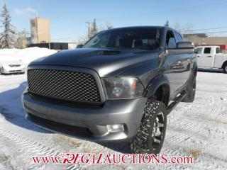 Used 2011 Dodge RAM 1500 SPORT CREW CAB SWB 4WD 5.7L for sale in Calgary, AB