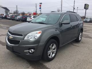 Used 2013 Chevrolet EQUINOX LT * ONE OWNER * LEATHER * REAR CAM * PIONEER SPEAKERS * BLUETOOTH for sale in London, ON
