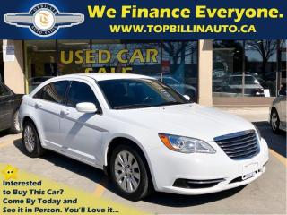 Used 2013 Chrysler 200 LX Auto, Only 70K kms, 2 Years Warranty for sale in Concord, ON