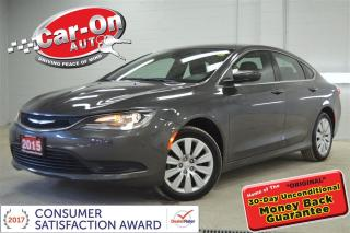 Used 2015 Chrysler 200 AUTO A/C CRUISE BLUETOOTH ONLY 35,000 KM for sale in Ottawa, ON