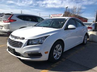 Used 2016 Chevrolet Cruze LT, only 16800 km, like new for sale in Scarborough, ON