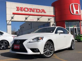 Used 2014 Lexus IS 250 Base, terrific shape, with very low mileage for sale in Toronto, ON