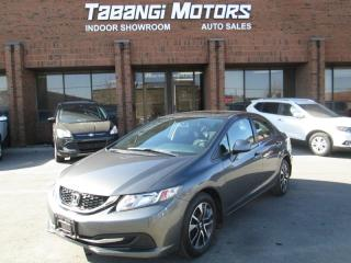 Used 2013 Honda Civic EX | SUNROOF | ALLOYS | BLUETOOTH | PUSH START for sale in Mississauga, ON