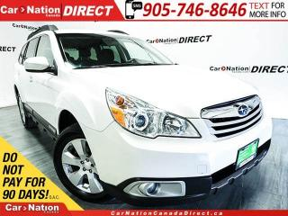 Used 2012 Subaru Outback | AWD| POWER DRIVERS SEAT| HEATED SEATS| for sale in Burlington, ON