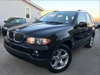 Used 2006 BMW X5 AWD|3.0i|Accident Free|Leather|Sunroof|low Mileage for sale in Burlington, ON