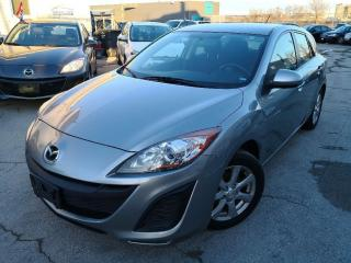 Used 2011 Mazda MAZDA3 Sport GX|Manual|Drive Great|Low Mileage|Free Warranty| for sale in Burlington, ON