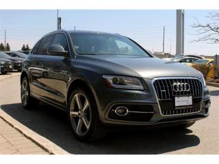 Used 2014 Audi Q5 2.0 Technik + S line Package | Bang & Olufsen for sale in Whitby, ON