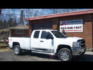 Used 2012 Chevrolet 2500 Duramax Diesel Ext Cab Z71 4X4 Long Box for sale in Elginburg, ON