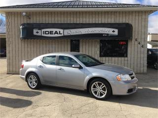 Used 2013 Dodge Avenger SXT for sale in Mount Brydges, ON