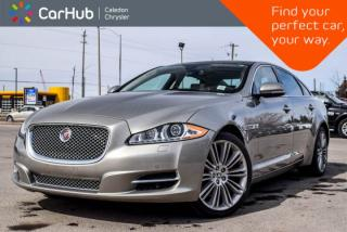 Used 2014 Jaguar XJ XJL Portfolio|AWD|Navi|Pano Sunroof|Backup Cam|Bluetooth|Blind Spot|leather|19
