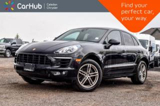 Used 2017 Porsche Macan AWD|Pano Sunroof|Backup Cam|Bluetooth|Lane Departure Warning|18