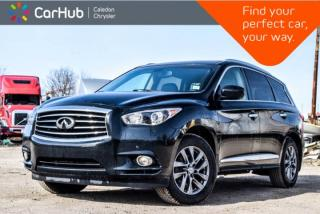 Used 2015 Infiniti QX60 AWD|7 Seater|Navi|Sunroof|Backup Cam|Bluetooth|R- Start|Leather|18