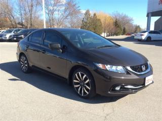 Used 2014 Honda Civic Sedan Touring for sale in Milton, ON