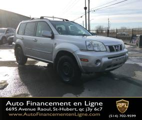Used 2006 Nissan X-Trail **4X4/AIR CLIMATISÉ/AUTOMATIQUE** for sale in Saint-hubert, QC