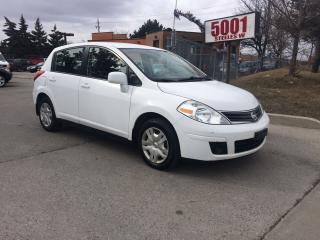 Used 2012 Nissan Versa H/B,AUTO,167KM,SAFETY+3YEARS WARRANTY INCLUDED for sale in North York, ON