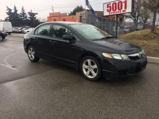 Used 2009 Honda Civic EX,S/R,ALLOY,AUTO165KM,SAFETY+3YEARS WRANTY INCLDE for sale in North York, ON