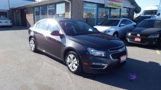Used 2016 Chevrolet Cruze LT/BACKUP CAMERA/BLUETOOTH/IMMACULATE$14900 for sale in Brampton, ON