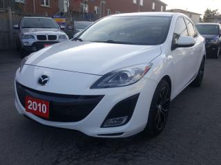 Used 2010 Mazda MAZDA3 GT/Sunroof/Leather/Bluetooth/Alloys/MUST SEE! for sale in Scarborough, ON