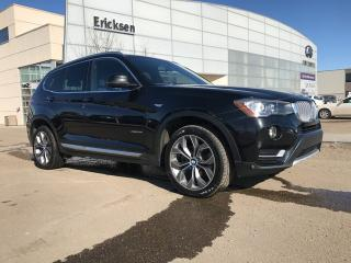 Used 2016 BMW X3 ALL WHEEL DRIVE/HEATED SEATS/NAVIGATION/BACK UP CAMERA for sale in Edmonton, AB