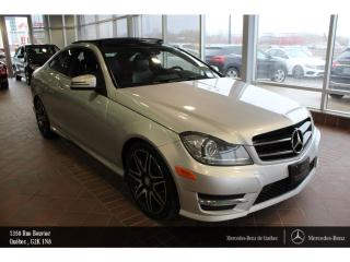 Used 2015 Mercedes-Benz C-Class C350 Awd Coupé, Toit for sale in Quebec, QC
