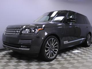 Used 2017 Land Rover Range Rover Range Rover 5.0L V8 Supercharged Autobiography Long Wheelbase - Original Retail Price $168,498 - CPO 6yr/160000kms manufacturer warranty included until Febuary 27, 2021! CPO rates starting at 2.9%! Local One Owner Trade In | No Accidents | 3M Protection A for sale in Edmonton, AB