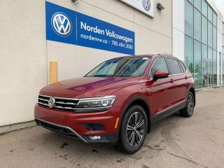 Used 2018 Volkswagen Tiguan HIGHLINE 4MOTION AWD W/ 7 SEATS! LEATHER + SUNROOF for sale in Edmonton, AB