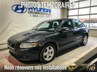 Used 2010 Volvo S40 S40 + MAGS + TOIT + CUIR + BLUETOOTH + W for sale in Drummondville, QC