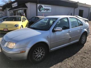 Used 2003 Volkswagen Jetta wolfsburg for sale in Bloomingdale, ON