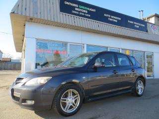Used 2007 Mazda MAZDA3 GT,LEATHER,SUNROOF,ALLOYS,FOG LIGHTS for sale in Mississauga, ON
