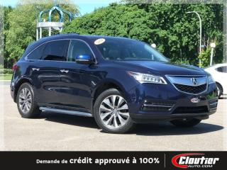 Used 2014 Acura MDX Ensemble Navigation for sale in Trois-Rivières, QC
