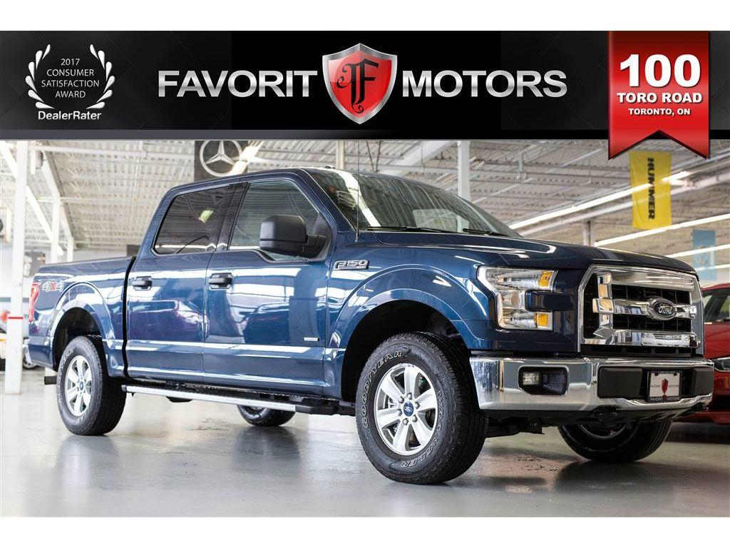 Used 2015 Ford F 150 Xlt Ecoboost Supercrew Cab 4x4 For Sale In Blue