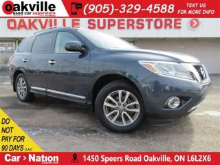 Used 2014 Nissan Pathfinder SL + TECH PACK + SUNROOF + LOW KMS + 4X4 for sale in Oakville, ON