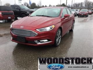 Used 2017 Ford Fusion Titanium Certified PRE Owned 1.99% OAC FOR 72 MOS for sale in Woodstock, ON