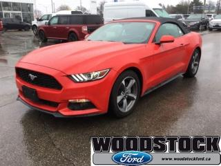 Used 2017 Ford Mustang V6 - Bluetooth - Low Mileage for sale in Woodstock, ON