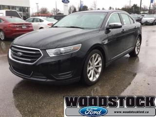 Used 2017 Ford Taurus Limited - Sunroof -  Navigation for sale in Woodstock, ON